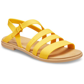 Crocs Tulum Sandaler Damer, gul/beige